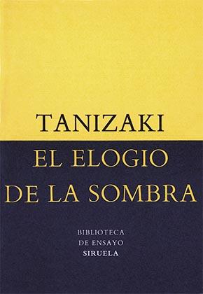 Portada. El elogio de la sombra. Tanizaki