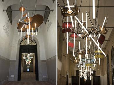 Drop and Bebop. Bienal de Venecia. 2013 Bill Culbert.