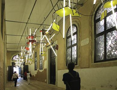 Bebop. Bienal de Venecia. 2013 Bill Culbert.