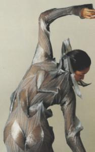 Miyake Pleats, del vestuario para el Ballet de Frankfurt. 1991