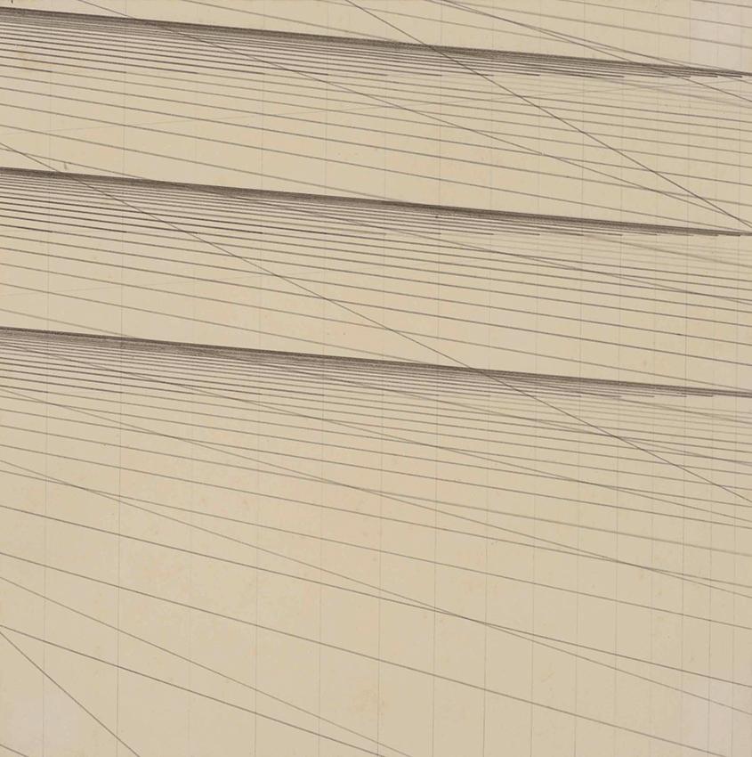 NASREEN MOHAMEDI. Sin título. Tinta y grafito sobre papel.
