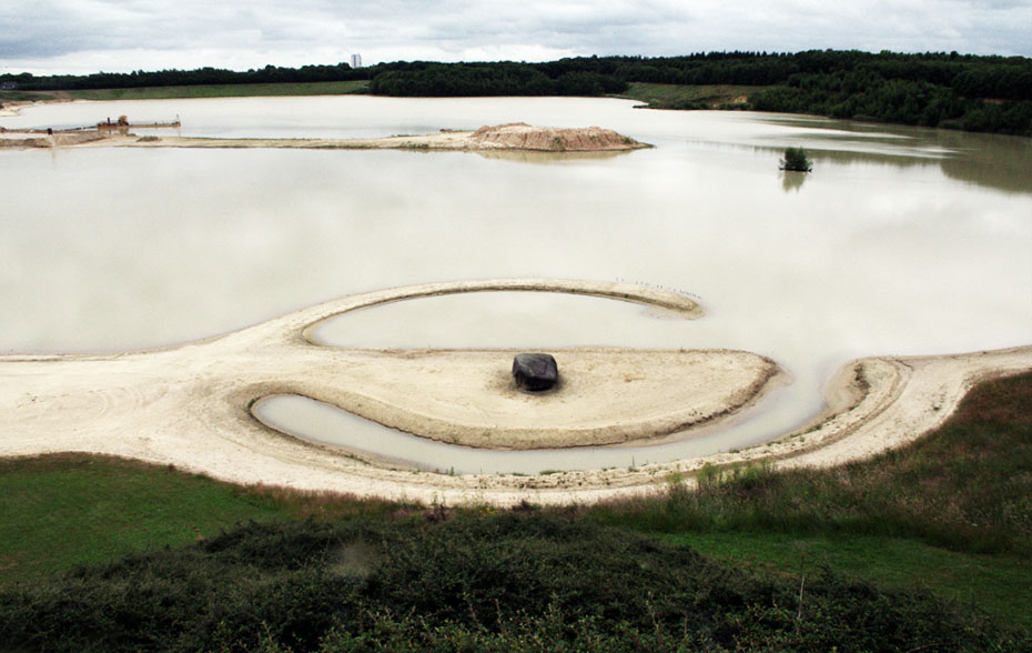 Broken Circle de Robert Smithson
