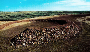 Amarillo-Ramp de Robert Smithson