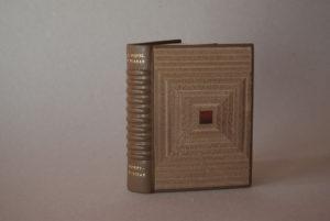 Encuadernación de Eduardo Giménez. Confidencias de Juan Buenhombre, Miquel y Planas. Ilust. de A. Ollé Pinell (2014)