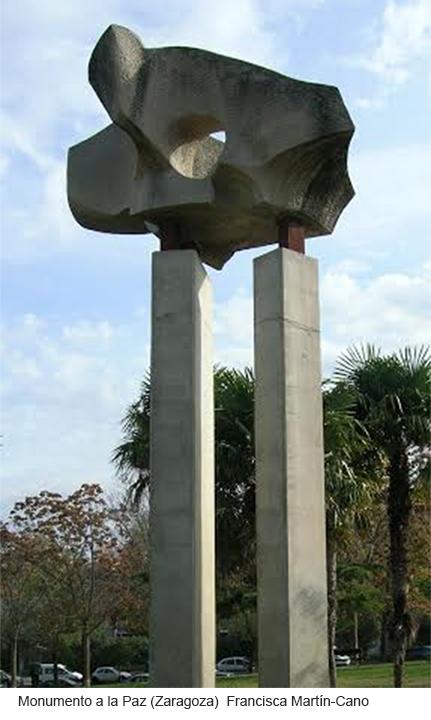 Monumento a la Paz (Zaragoza) Francisca Martín- Cano