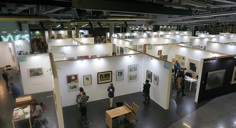 Feria Bilbao, 2018,el Festival Internacional de Grabado y Arte sobre papel .