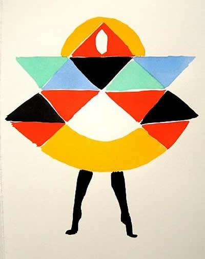 Les Robes Poèmes. Litografía.1969