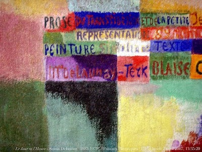 Prismas eléctricos. (colabora con Cendrars).1914