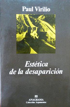 Estética de la desaparición Paul Virilio