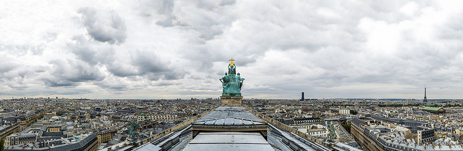 París desde Garnier, 2011