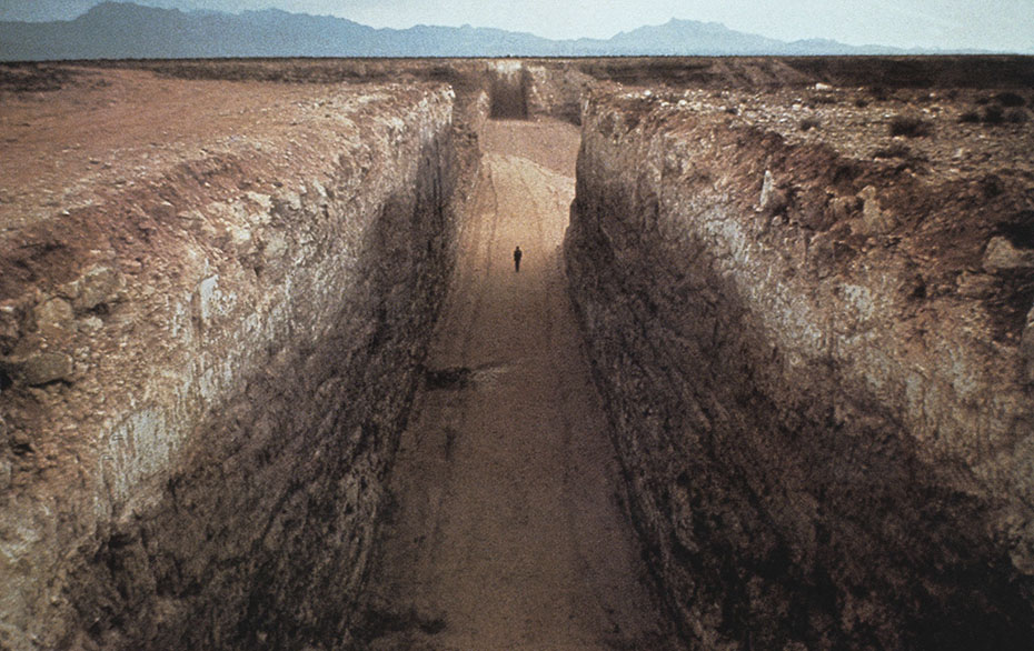 Double Negative de Michael Heizer, Land Art
