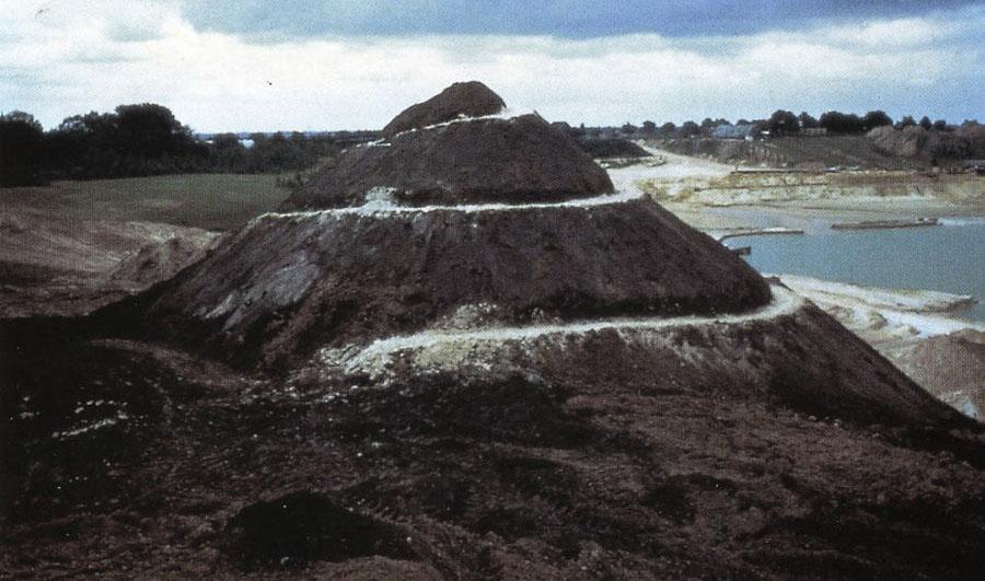 Spiral Hill de Smithson 1971