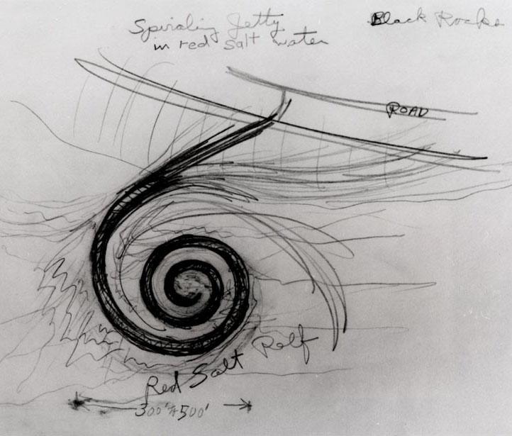 Spiral de Jetty Smithson 1971