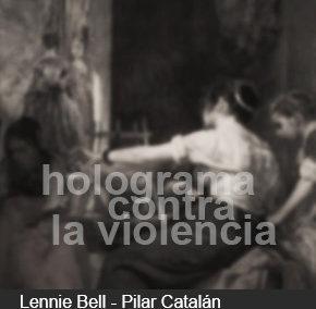 HOLOGRAMA CONTRA LA VIOLENCIA