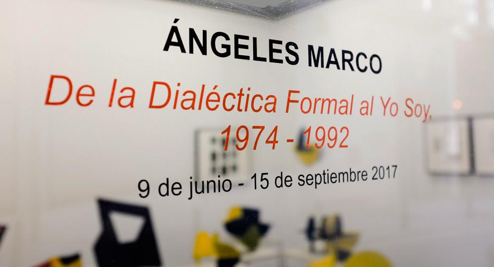 Ángeles Marco, escultora española. De la dialéctica formal al Yo soy.