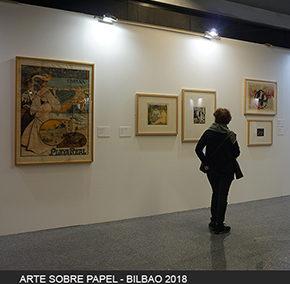 ARTE SOBRE PAPEL – BILBAO 2018